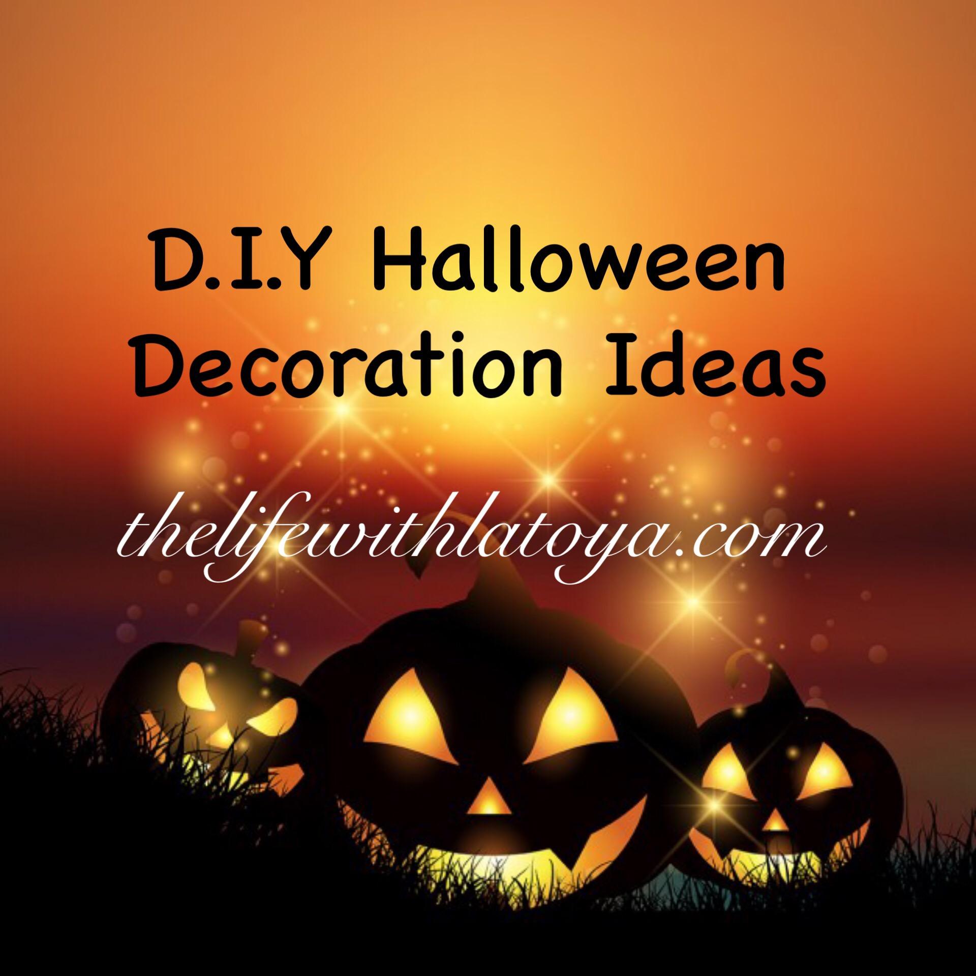 Happy Halloween Tips On Home Decoration 1: D.I.Y Halloween Decoration Ideas